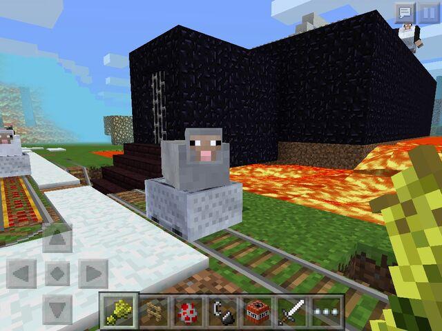 File:Minecart sheep.jpg