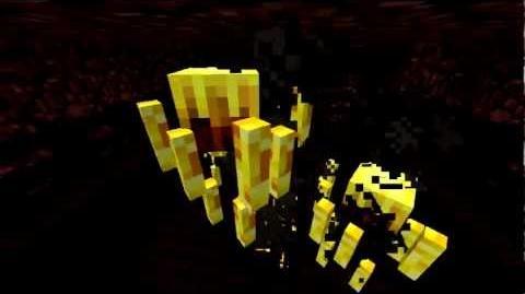 Minecraft Mobs Blaze