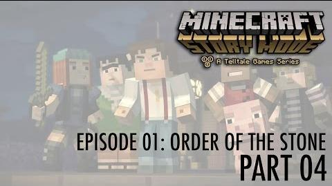 Let's Play Minecraft - Story Mode! Episode 01- Order of the Stone (part 04) Moving on.