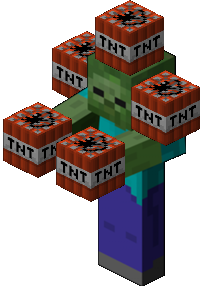 File:Minecraft TNT Zombie.png