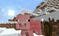 Minecraft-Diary-Snow-Pig 2494284