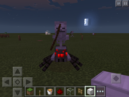 Spider jockey in minecraft pocket edition
