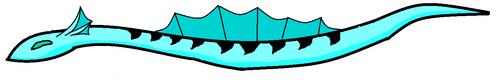 Minecraftian Water Serpent