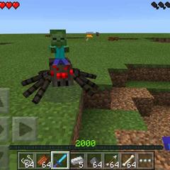 Baby Zombie-Spider Jockey