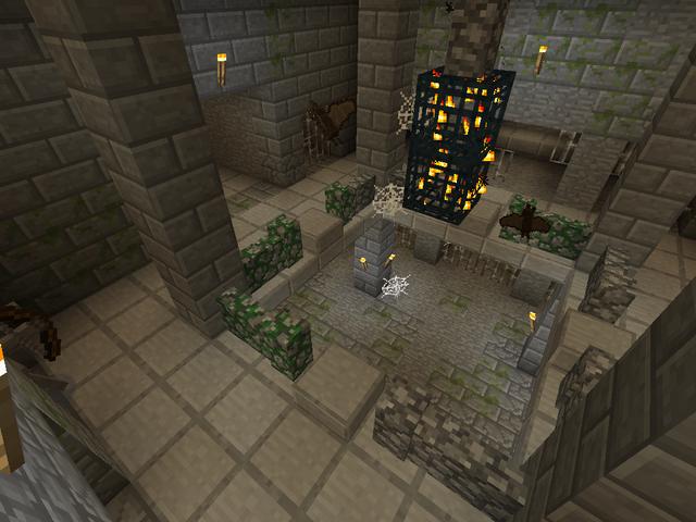 File:Minecraft underground prison cage.png