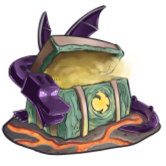 The official artwork for Mythical Chests.