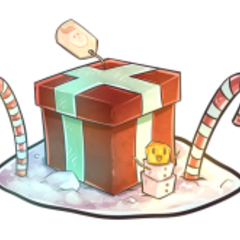 The official artwork for Winter Holiday Treasure