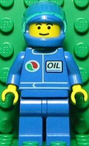 Octan Blue Oil with Blue Helmetp
