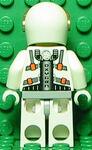 Mars Mission Astronaut Back