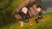 Ninja Master and Hiro