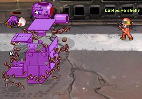 Screen HT Purple Destroyed