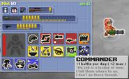 Minitroopers Commander Stats Sheet