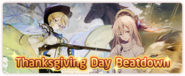 Thanksgiving Day Beatdown Event Banner