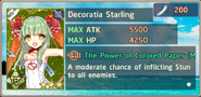 Decoratia Starling Exchange Box