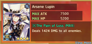 Arsène Lupin Summon Preview