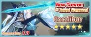 Excalibur Summon Banner