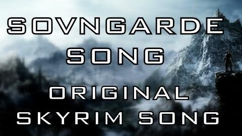 SOVNGARDE SONG - Skyrim song by Miracle Of Sound