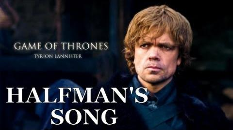 HALFMAN'S SONG - Game Of Thrones Tyrion Lannister Song by Miracle Of Sound