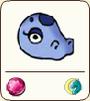 Blueish dragon mask