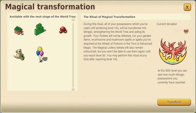 Magical Transformation