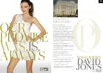 David Jones press ad