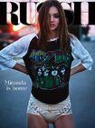 Miranda Kerr RUSSH Magazine Cover