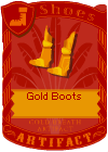 Gold Boots 2