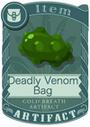 Deadly Venom Bag