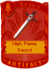 High Flame Sword