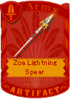 Zoa Lightning Spear