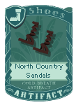 North country sandals