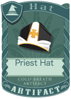 Priest Hat Black