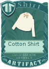 Cotton shirt bow mint