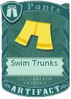 Swim Trunks Yellow