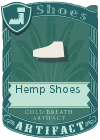 Hemp Shoes White