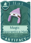 Magic Apprentice Hat Light Purple