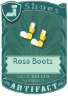 Rose Boots Yellow