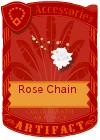 Rose Chain White