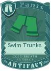 Swim Trunks Green