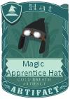 Magic Apprentice Hat Black