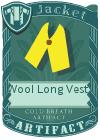 Wool Long Vest 1 Yellow