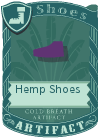 Hemp Shoes Purple