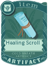 Healing Scroll