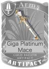Giga Platinum Mace