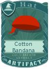 Cotton Bandana Red