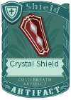 Crystal Shield Red