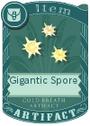 Gigantic Spore