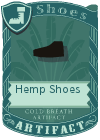 Hemp Shoes Black
