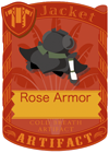 Rose Armor Black