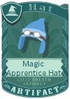 Magic Apprentice Hat Light Blue